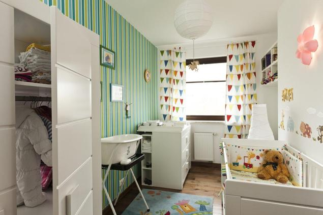 Pokój dla niemowlaka. Wystrój wnętrza w skandynawskim stylu