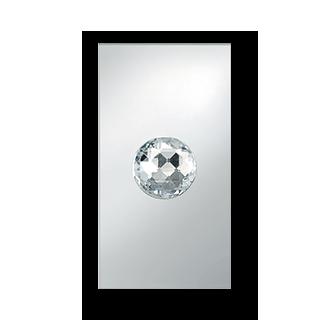 Przycisk z kryształem Swarovskiego BERKER TS Crystal Ball