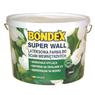 Lateksowa farba do ścian Super Wall Biały BONDEX
