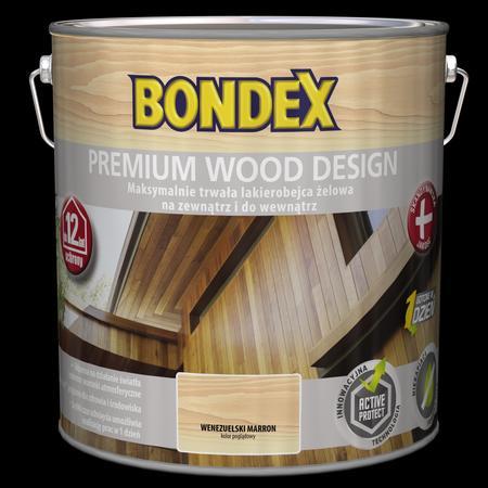 Lakierobejca żelowa Premium Wood Design BONDEX