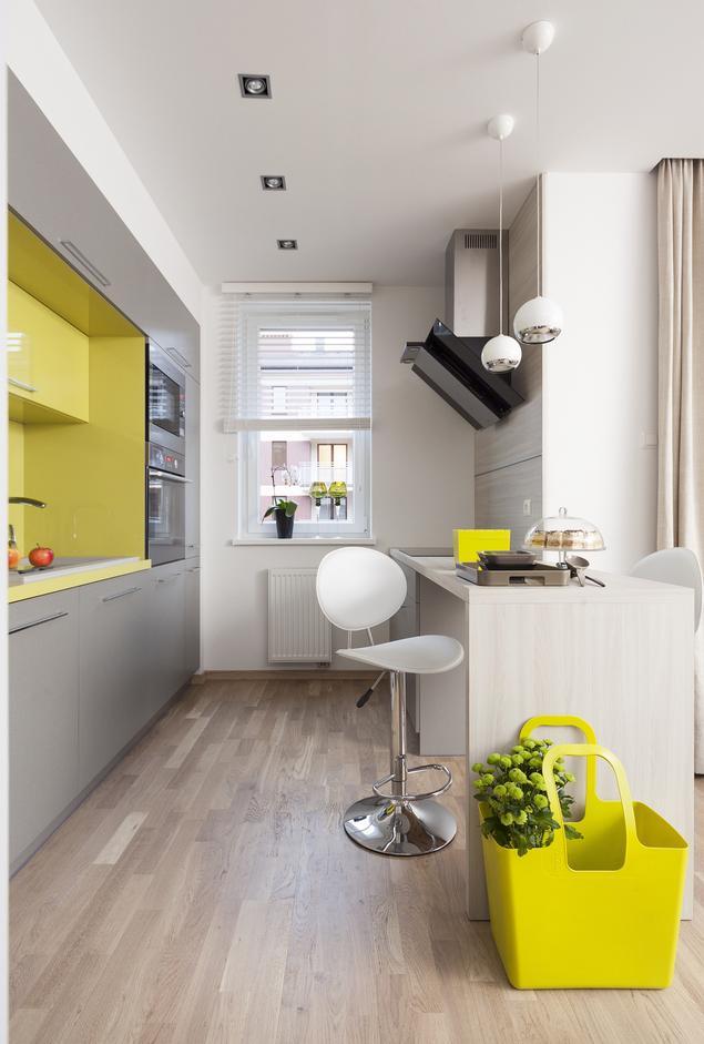 Zobacz galerię zdjęć Szara kuchnia Minimalistyczne   -> Urządzanie Kuchni Z Jadalnią