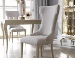 Krzesło tapicerowane Queen NOVELLE - zdjęcie 1