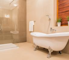 Nowoczesna łazienka. Styl eklektyczny