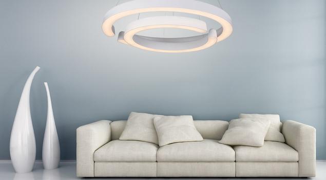 Geometria światła - lampy wiszące