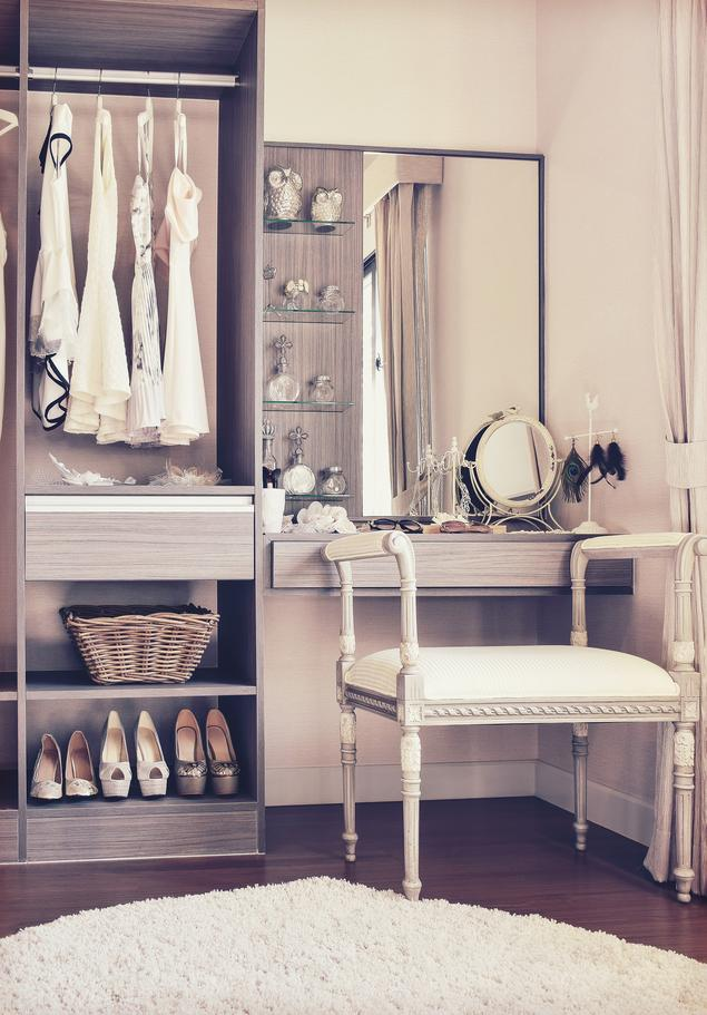 Aranżacja garderoby